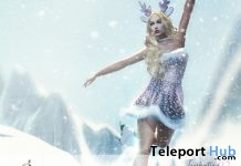 Iceskating Unisex Pose Christmas 2018 Gift by StudiOneiro - Teleport Hub - teleporthub.com
