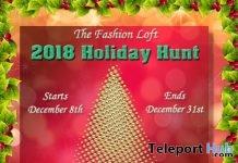 The Fashion Loft 2018 Holiday Hunt - Teleport Hub - teleporthub.com