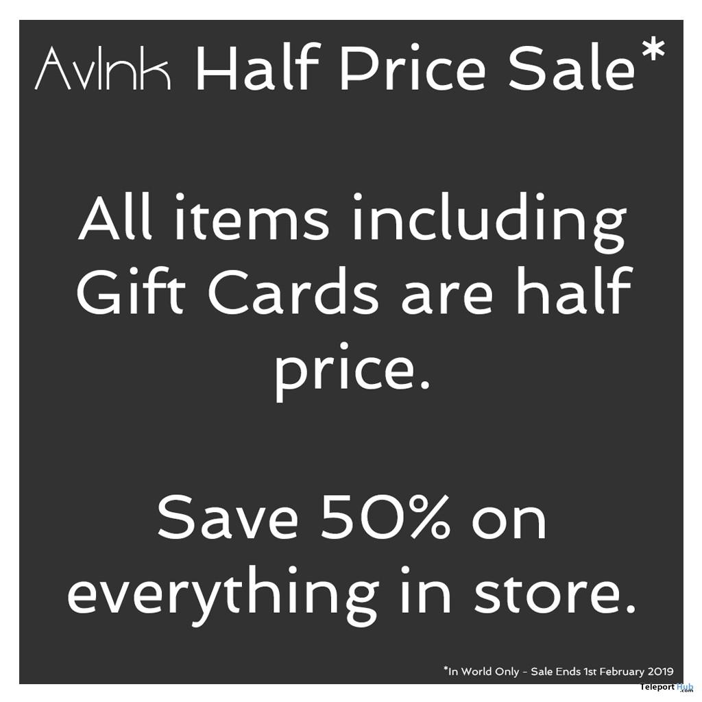AvInk 50% Sale Event January 2019- Teleport Hub - teleporthub.com