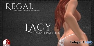 White Lacey Panties 1L Promo Gift by Regal- Teleport Hub - teleporthub.com