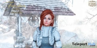 Fur Stole January 2019 Group Gift by ANTAYA - Teleport Hub - teleporthub.com