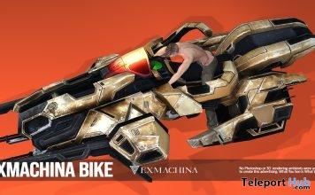 Space Scifi Bike January 2019 Group Gift by EXMACHINA- Teleport Hub - teleporthub.com