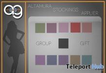 Velated Line Stockings For Altamura Mesh Body January 2019 Gift by Altamura- Teleport Hub - teleporthub.com