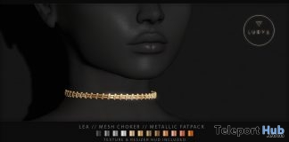 Lea Mesh Choker January 2019 Group Gift by Luova - Teleport Hub - teleporthub.com