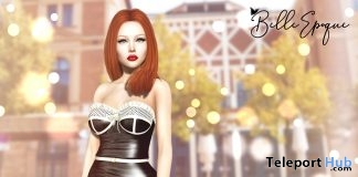 Nagore Dress January 2019 Group Gift by Belle Epoque - Teleport Hub - teleporthub.com