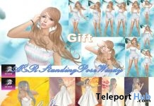 Windy Standing Bento Poses 1 & 2 January 2019 Gift by A&R Haven - Teleport Hub - teleporthub.com