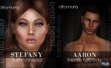 AltamuraBa: Stefany & Aaron Bento FullBody 50% Off Promo by Altamura- Teleport Hub - teleporthub.com