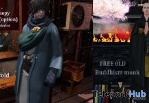 Buddhism Monk & I Hate Cold Male Outfit Gifts @ Rebellion 2019 Sale by Breath x HILU - Teleport Hub - teleporthub.com