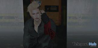 Tsunagi Black Outfit With Pattern HUD Teleport Hub Group Gift by Breath- Teleport Hub - teleporthub.com