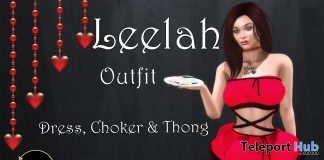 Leelah Outfit 10L Promo by Continuum Fashion- Teleport Hub - teleporthub.com