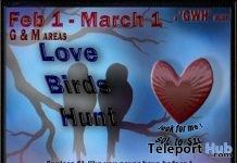GWH LoveBird Hunt 2019- Teleport Hub - teleporthub.com