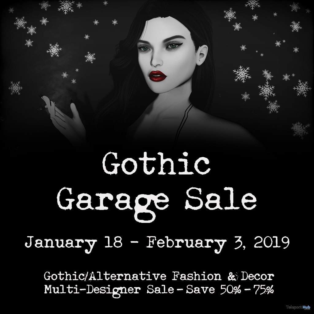 Gothic Garage Sale 4- Teleport Hub - teleporthub.com