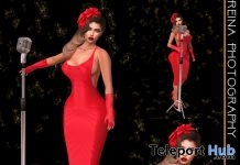 Lola Singer Pose Pack January 2019 Gift by Reina Photography - Teleport Hub - teleporthub.com