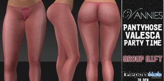 Valesca Pantyhose Partytime January 2019 Group Gift by VANNIES - Teleport Hub - teleporthub.com