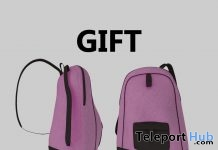 Canvas & Leather Pink Backpack Gift by Duh!- Teleport Hub - teleporthub.com
