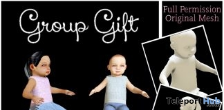 Sitting Baby Dolls Full Perm January 2019 Group Gift by Sherbert - Teleport Hub - teleporthub.com