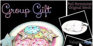 Cookies Plate Full Perm January 2019 Group Gift by Sherbert- Teleport Hub - teleporthub.com