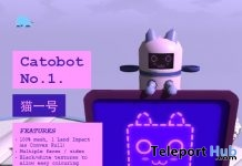 Catobot No.1 January 2019 Gift by The Flying Whale - Teleport Hub - teleporthub.com