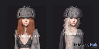 New Release: Milana, Neva, Nina, & Nova Hair by Entwined @ Shiny Shabby January 2019- Teleport Hub - teleporthub.com