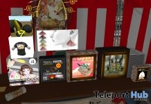 Several Japanese Freebies @ KATAKANA Shrine January 2019 by Various Designers - Teleport Hub - teleporthub.com