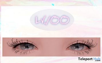Eyelashes Applier For Genus Head January 2019 Group Gift by Lv.100- Teleport Hub - teleporthub.com