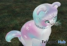 SnowFlake Cat Statue January 2019 Gift by KittyCatS - Teleport Hub - teleporthub.com
