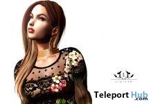 New Release: Monica Dress by LIZIAAH @ Sense Event January 2019- Teleport Hub - teleporthub.com