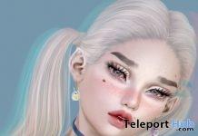 PixelBunneh Earrings & Choker Set January 2019 Gift by Axix- Teleport Hub - teleporthub.com