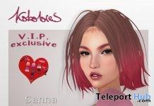 Sanna Hair Exclusive Pack January 2019 Group Gift by KoKoLoReS- Teleport Hub - teleporthub.com