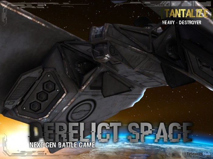 Derelict Space Destroyer Tantalize Gift by Nerox Hi-Tech Store - Teleport Hub - teleporthub.com