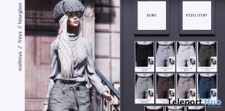 New Release: Olivia Outfit by RKKN @ Shiny Shabby January 2019- Teleport Hub - teleporthub.com