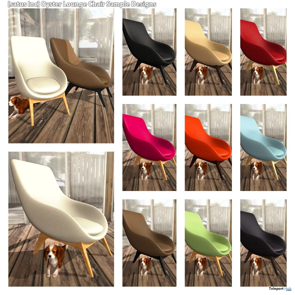 New Release: Oyster Lounge Chair [Adult] & [PG] by [satus Inc] - Teleport Hub - teleporthub.com
