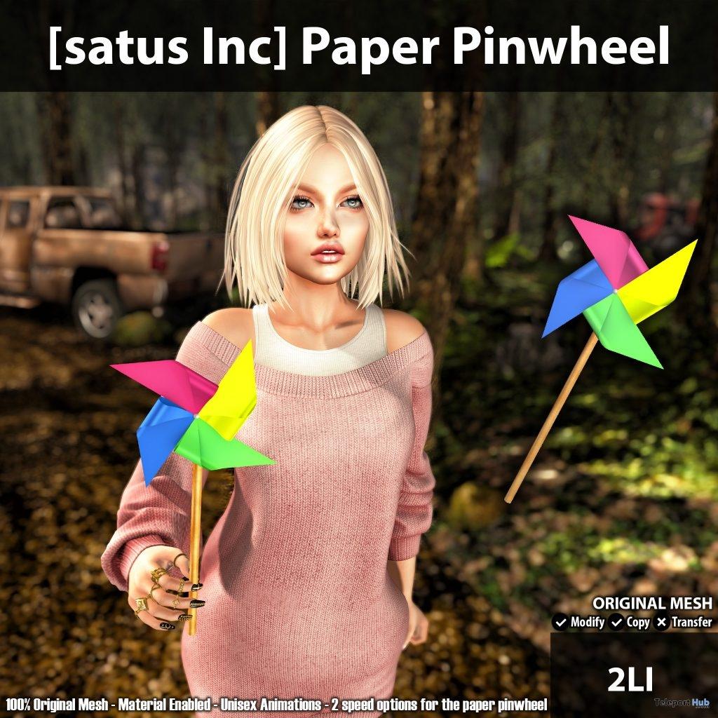 Paper Pinwheel Group Gift by [satus Inc]- Teleport Hub - teleporthub.com