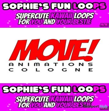 New Release: Sophie's Fun Loops Bento Dance Pack by MOVE! Animations Cologne - Teleport Hub - teleporthub.com