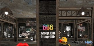 Rubber Duck & Rock Lips February 2019 Group Gift by 666 - Teleport Hub - teleporthub.com