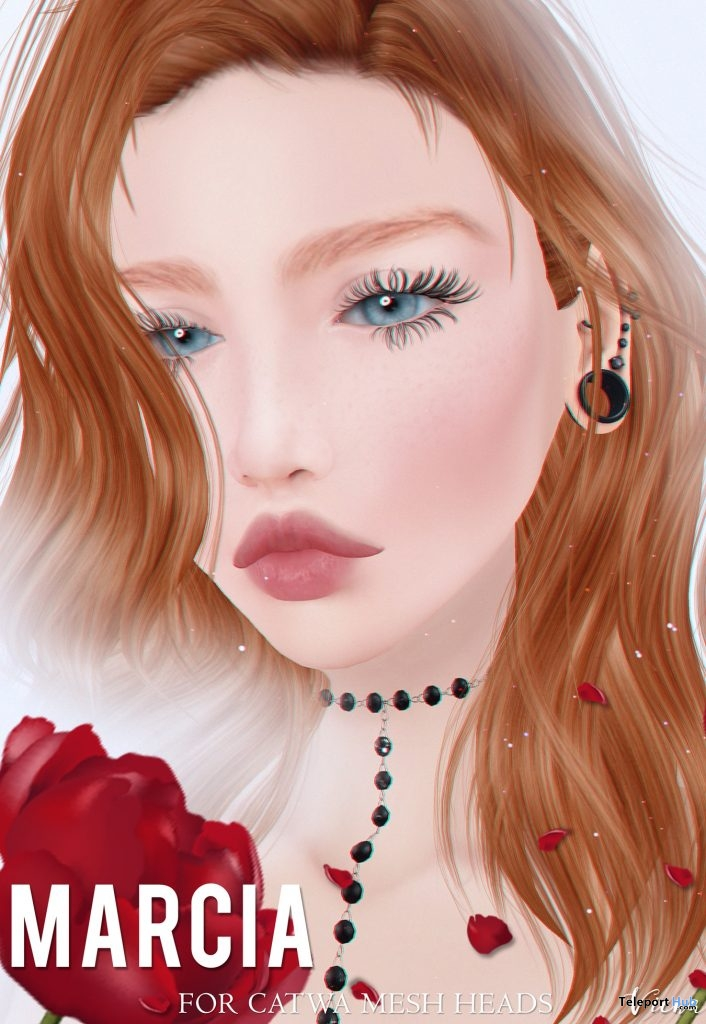 Marcia Skin for Catwa Heads 25L Promo by Viena- Teleport Hub - teleporthub.com