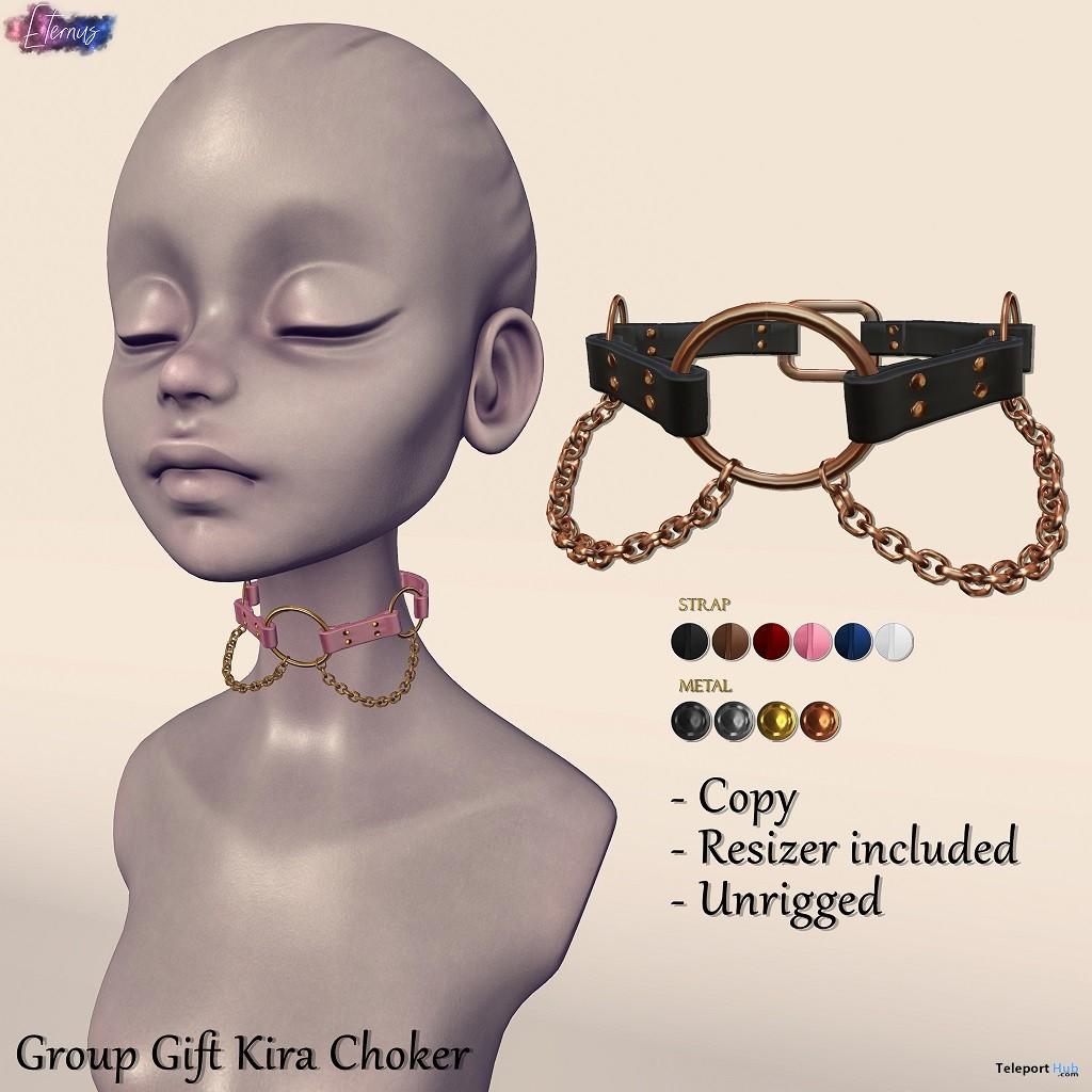 Kira Choker February 2019 Group Gift by Eternus- Teleport Hub - teleporthub.com