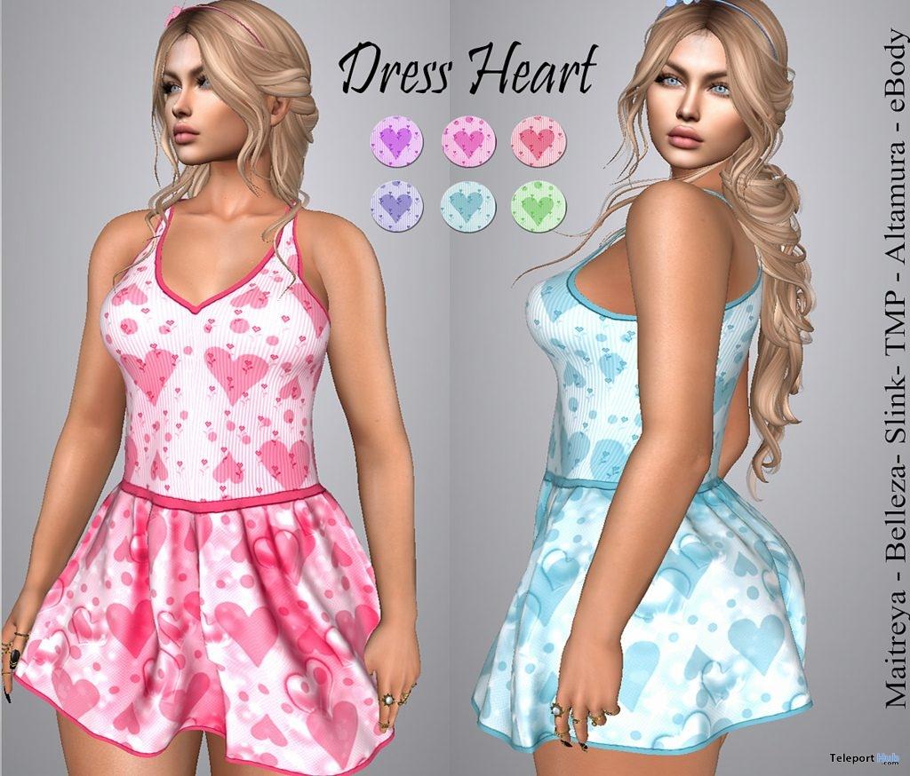 Heart Dress 10L Promo by LS Diamond- Teleport Hub - teleporthub.com