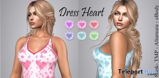 Heart Dress 10L Promo by LS Diamond - Teleport Hub - teleporthub.com