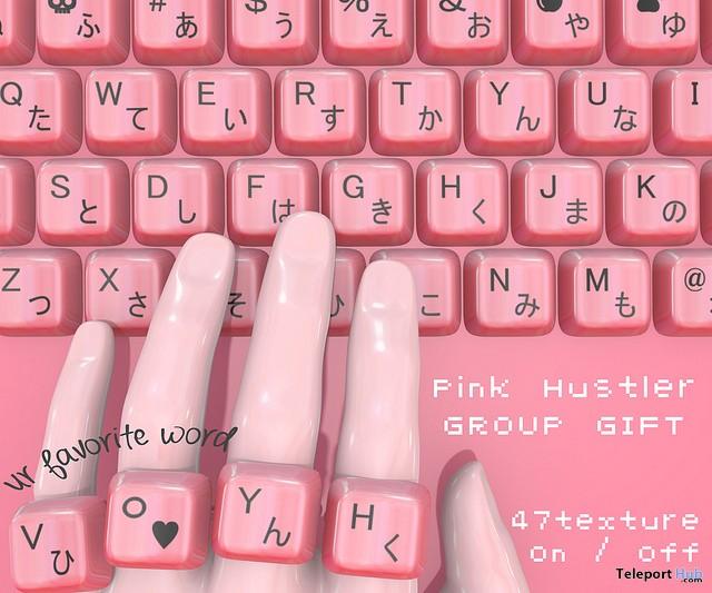 Key Rings February 2019 Group Gift by Pink Hustler- Teleport Hub - teleporthub.com