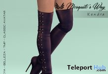 Kendra High Heel Boots February 2019 Group Gift by Mosquito's Way - Teleport Hub - teleporthub.com