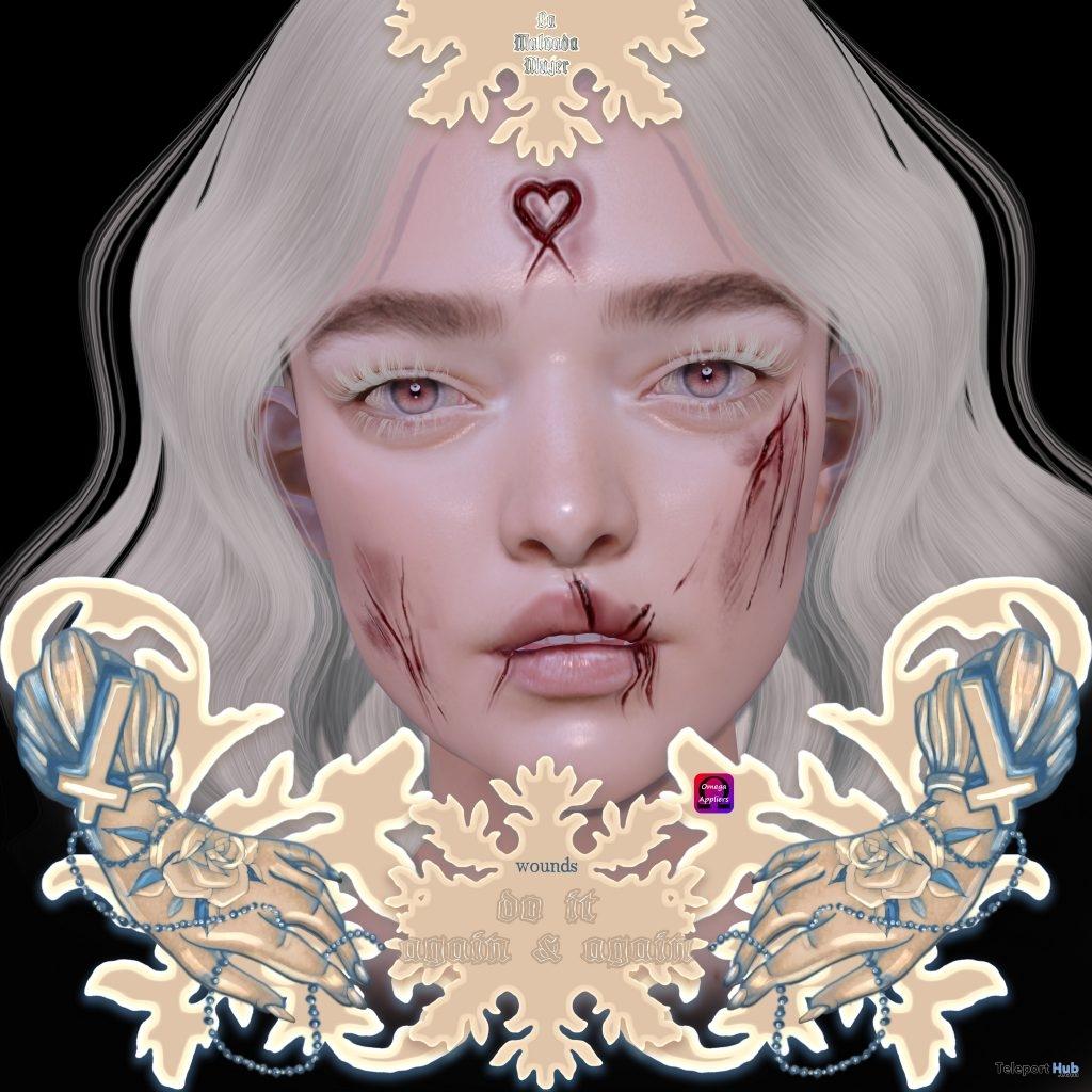 Do It Again & Again Scar Facial Tattoo February 2019 Gift by La Malvada Mujer- Teleport Hub - teleporthub.com