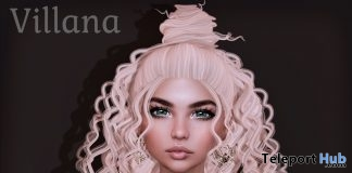 Villana Hair February 2019 Group Gift by Limerence - Teleport Hub - teleporthub.com