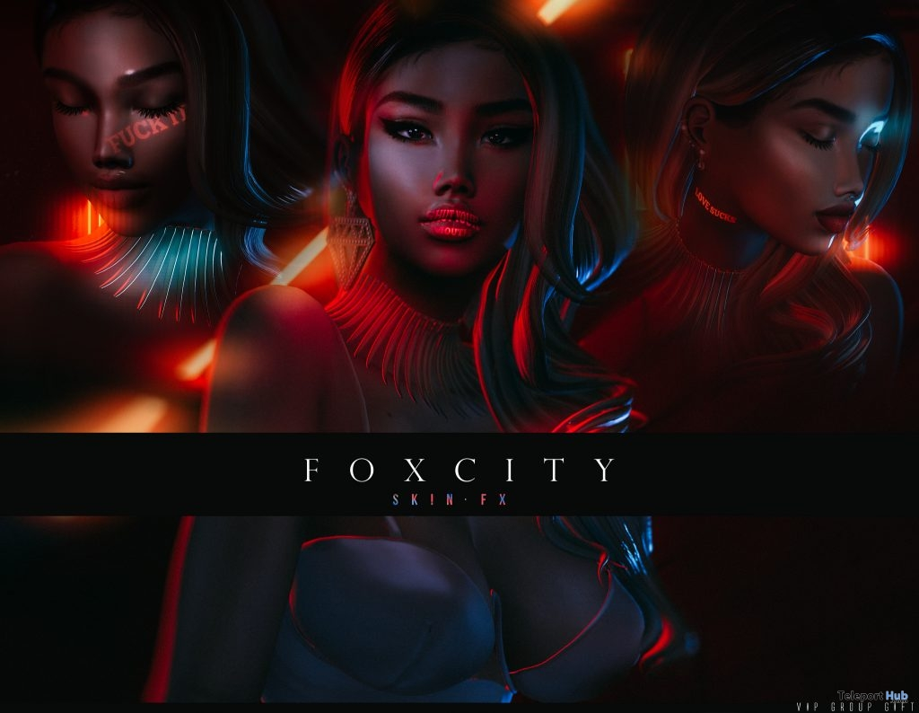 SkinFX Face Projectors February 2019 Group Gift by FOXCITY- Teleport Hub - teleporthub.com