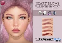 Heart Brows Valentine 2019 Gift by Izzie's - Teleport Hub - teleporthub.com