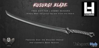 Kusurgi Blade February 2019 Group Gift by Forge- Teleport Hub - teleporthub.com
