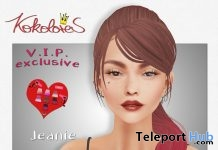 Jeanie Hair Exclusive Pack February 2019 Group Gift by KoKoLoReS - Teleport Hub - teleporthub.com