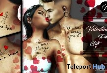 Valentine Tattoo Tattoo February 2019 Group Gift by INKer - Teleport Hub - teleporthub.com