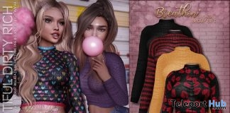 Breathin' Sweater February 2019 Group Gift by Beautiful Dirty Rich- Teleport Hub - teleporthub.com