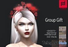 Sweety Hair Fatpack February 2019 Group Gift by FABIA - Teleport Hub - teleporthub.com